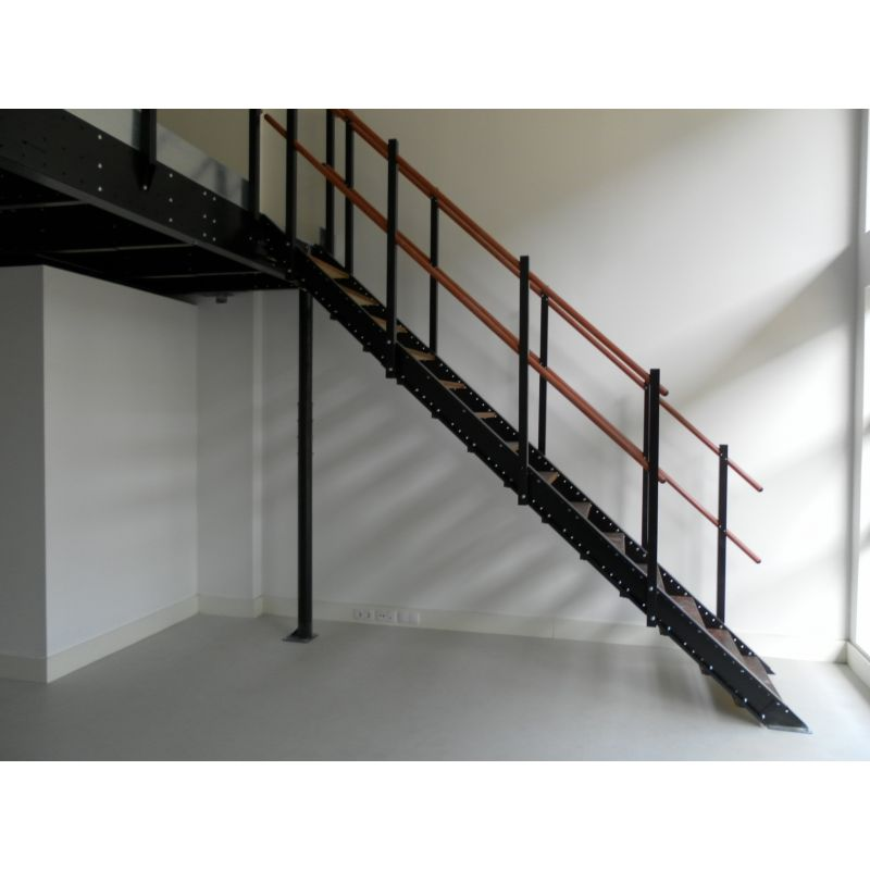 Long Straight Stairs L Mezzaninesonline Com