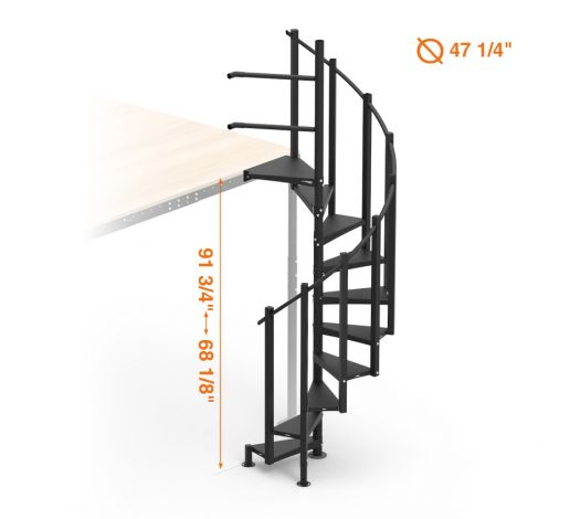 spiral stairs kit