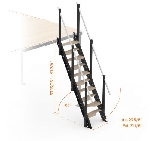 S62-T8 Stairs