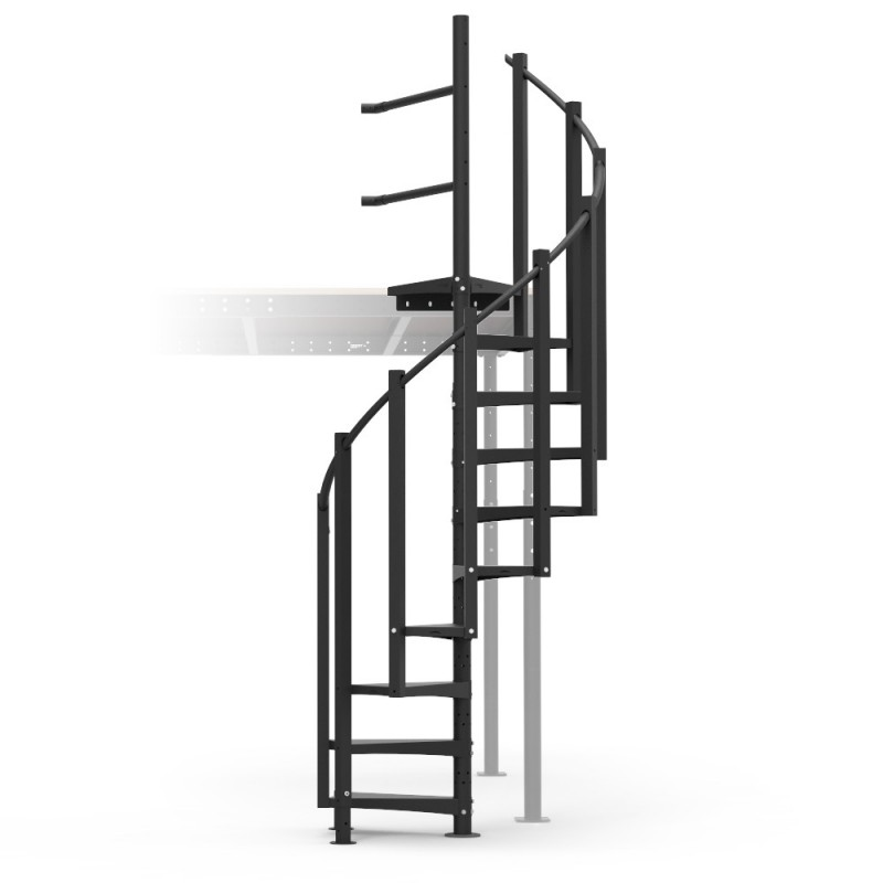 Spiral Stairs Kit; Spiral Stairs Kit ...