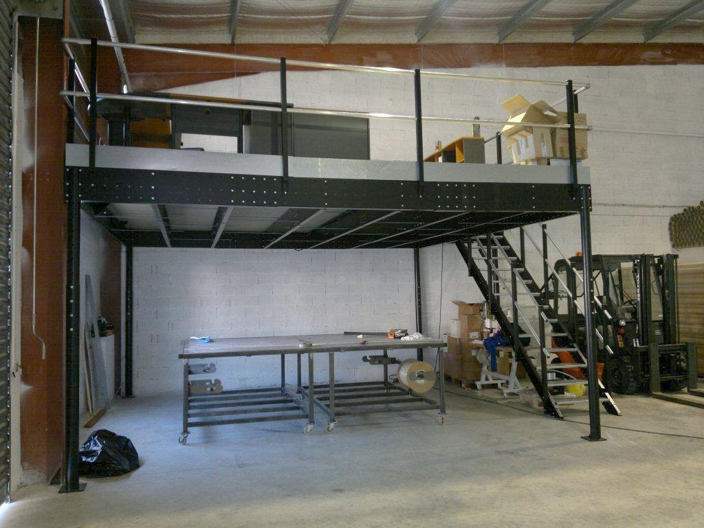 Mezzanine Floor System - Mezzaninesonline.com